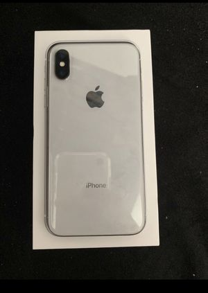 Iphone x (clean icloud-unlocked any carrier) for Sale in San Jose, CA