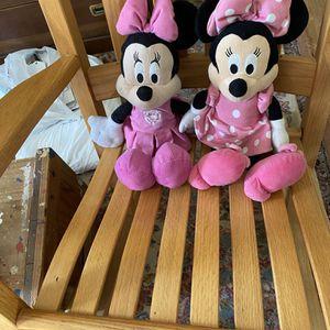 Disney Minnie Mouse Plush Dolls for Sale in Suffolk, VA
