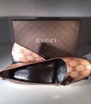 Authentic Gucci shoes size 9 for Sale in Manassas, VA