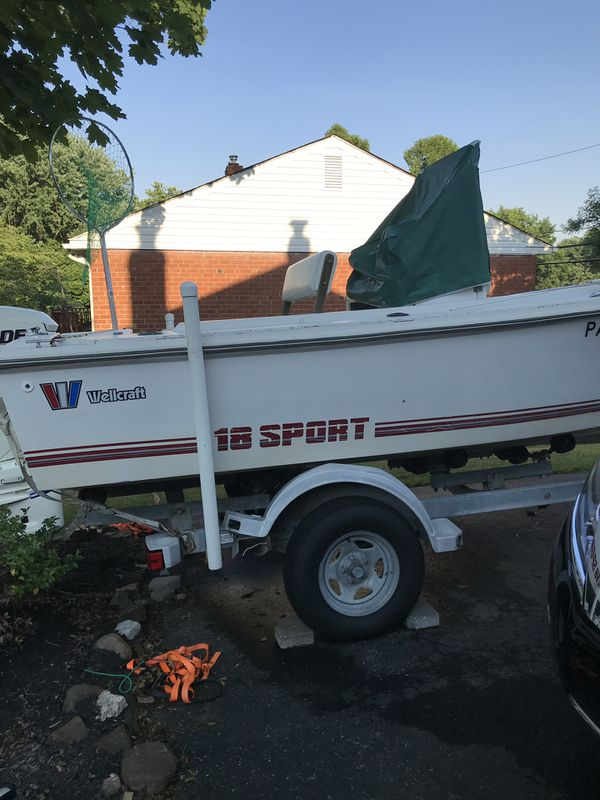 Wellcraft 18' sport center console