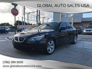 2007 BMW 5 Series for Sale in Miami, FL