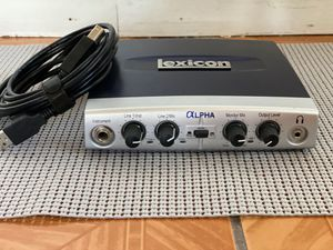 Lexicon Alpha Audio Interface for Sale in Tustin, CA