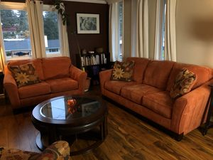 living room sofa set plus chair for Sale in Bellevue, WA