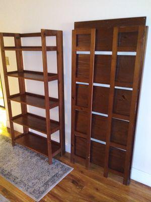 Fold bookshelves for Sale in Fort Lauderdale, FL