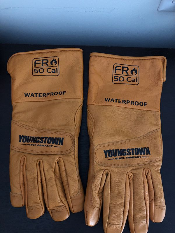 Never used Youngstown waterproof gloves size XL