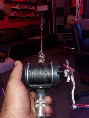 Shimano Torium 30HGA Fishing Reel w/ Custom Wrapped Casting Rod for Sale in Garden Grove, CA
