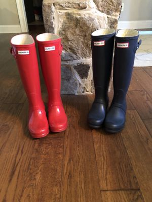 Hunter rain. Boots women's for Sale in Suwanee, GA