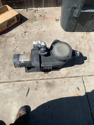 Hayward Swimming Pool Pump 1hp for Sale in Tracy, CA
