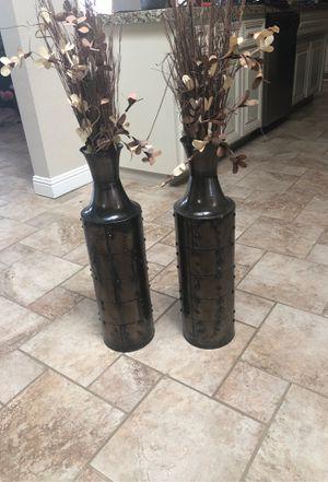 Large vases for Sale in Modesto, CA