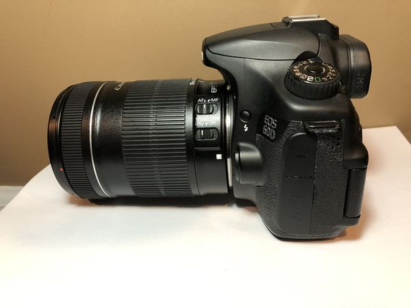CANON EOS 60D with accessories