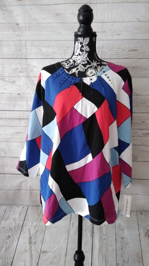 Beautiful Alfred Dunner Shirt , women's size XL ( New with tag ) for Sale in Frederick, MD