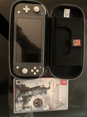 Like new Nintendo switch lite with 2 games for Sale in Capitol Heights, MD
