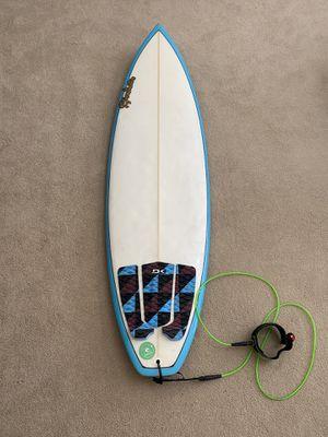 Surfboard 6'1, Custom Mike Minchinton Board for Sale in Riverside, CA