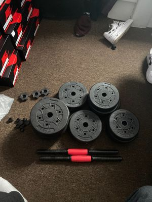 New empty dumbbell set VERY CHEAP for Sale in Boston, MA