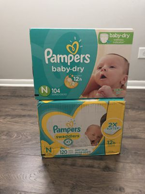 Pampers Size N (Unopened) for Sale in Orland Park, IL