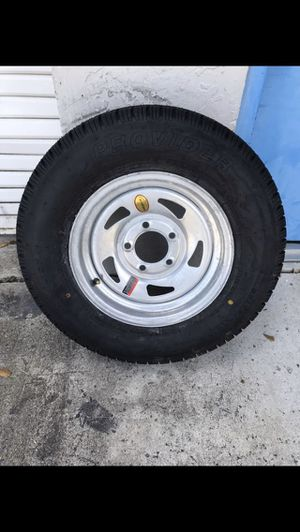 Trailer Mania has got brand new 175-80-13inch on 5-lug galvanized rim. $70/each for Sale in Fort Lauderdale, FL