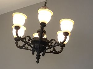 Chandelier and ceiling light for Sale in Plainfield, IL