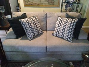 $125.00 Love Seat including 4 pillows for Sale in Modesto, CA