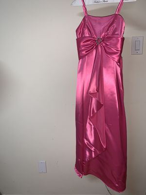 Pink Flowy Prom/Graduation Dress for Sale in Los Angeles, CA