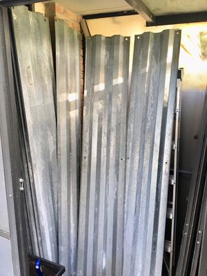 30 Steel Hurricane 7ft+ Shutters - Will Sell Separate/Together for Sale in Palm Beach Gardens, FL