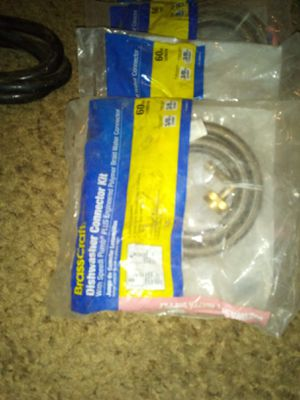 Dishwasher connectors kits. I have 6 of them brand new for Sale in San Angelo, TX