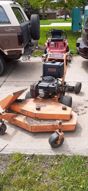 48 inch scag 36 inch zero trun + for Sale in MAYFIELD VILLAGE, OH