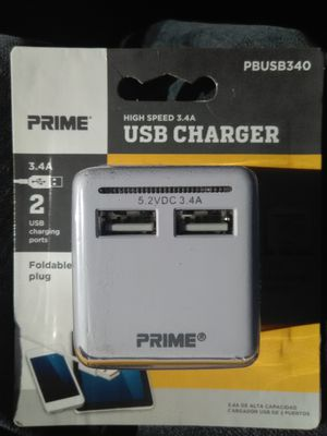 High speed 3.4A USB charger for Sale in Salt Lake City, UT