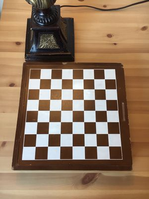 Chess Checkers Game Board for Sale in Beverly Hills, CA