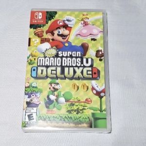 Mario Bros U Deluxe Nintendo Switch Game for Sale in Fort Lauderdale, FL