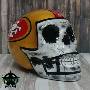 SF 49ers Sugar Skull for Sale in Corona, CA
