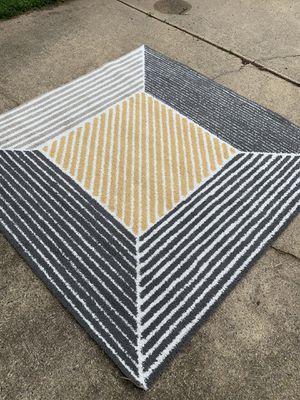 6.7' square rug for Sale in Herndon, VA