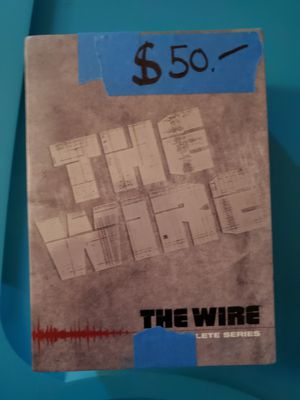 The complete seasons of the wire. for Sale in HOFFMAN EST, IL