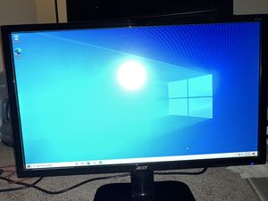"""Gaming Monitor Acer 24"""" for Sale in Montebello, CA"""