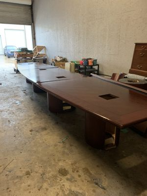 24' conference table. for Sale in Spring, TX