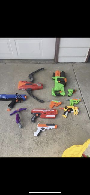 Nerf Guns Collection for Sale in Fresno, CA
