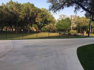 Wrought iron fencing. All styles and heights. for Sale in San Antonio, TX