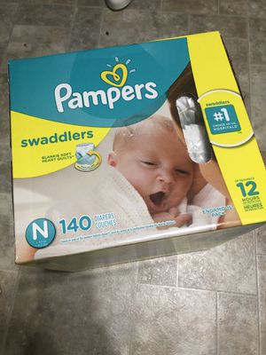 Pampers Newborn 140ct for Sale in Beaverton, OR