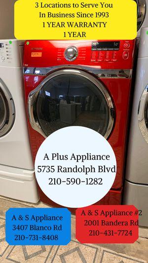 Samsung Front Load Dryer 1 Year Warranty for Sale in San Antonio, TX