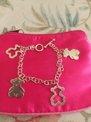 New 925.Silver. tous charm bracelet for Sale in Fullerton, CA