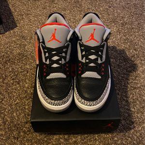 "Air Jordan 3 ""Black Cement"" for Sale in Bonney Lake, WA"
