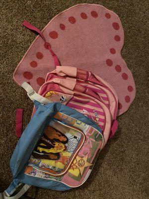 Free kids rug & backpacks for Sale in Fontana, CA