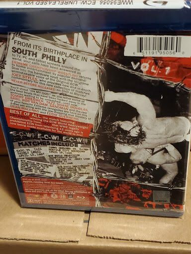 bluray ecw unreleased volume 1 wwe blu ray brand new