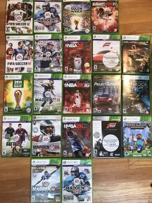 Xbox 360 games for Sale in Lake Stevens, WA