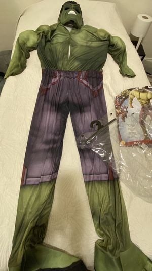Hulk Adult Size Halloween Costume for Sale in Norfolk, VA