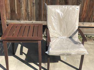 Aluminum patio furniture- faux woodgrain for Sale in Fresno, CA