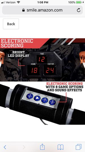 ESPN EZ Fold Indoor Basketball Game for 2 Players with LED Scoring and Arcade Sounds for Sale in Richmond, VA