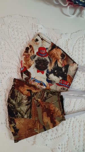 2 ladies face masks for Sale in Wolf Summit, WV