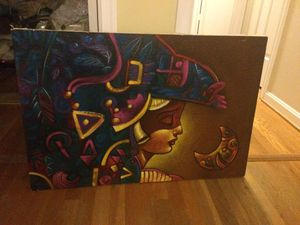 Canvas painting art frameless for Sale in Springfield, VA