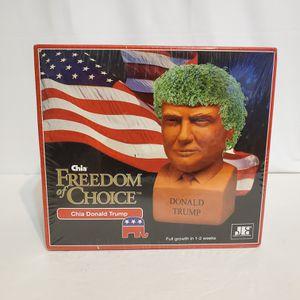 Donald Trump Chia Pet   Chia Freedom Of Choice for Sale in La Grange, IL