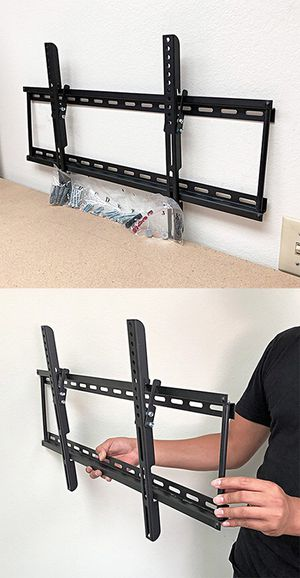 """(New in box) $15 Tilt 32""""-65"""" TV Wall Mount Television Bracket 15 Degree Up/Down Slim for Sale in Whittier, CA"""